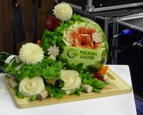 Fruitcarving watermelon
